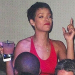 Rihanna complètement ivre un beau matin à Las Vegas