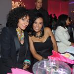 """Estelle, Tracee Ellis Ross et Beverly Bond au dîner pour l'évènement """"Black Girls Rock"""""""