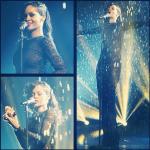 Rihanna toute mouillée à X Factor UK