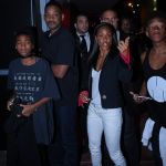 La famille Smith encourage DJ Trey Smith