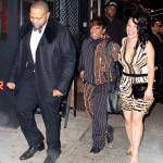 Missy Elliott, Jay-Z et Jamie Foxx à l'anniversaire de Timbaland