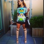 Rihanna flashe ses nouvelles chaussure Tom Ford