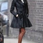 """Naomi est à Londres pour """"The Face"""""""
