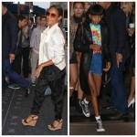 Willow Smith et Kylie Jenner Kardashian font les belles à New York City