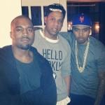 Kanye West célèbre son anniversaire aux côtés de Jay-Z et Nas