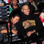 Chris Brown et Karrueche Tran de font des frayeurs lors de la soirée Universal Horror Nights