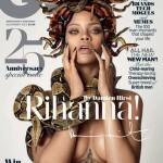 Rihanna fait la une de GQ Britannique
