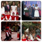 Les Obama célèbrent Christmas In Washington