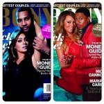 Mariah Carey, Nick Cannon, Lala Anthony et Carmelo Anthony à la une de Ebony Magazine