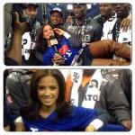 Rocsi Diaz copine avec des joueurs de NFL
