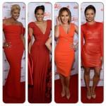 Nene Leakes, Adrienne Bailon, Kat Graham, Alicia Quarles radieuses au Heart Truth Red Dress Collection Show