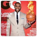 LeBron James a la une de GQ Magazine