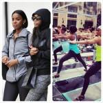 Kelly Rowland et Michelle Williams se joignent à Jeannette Jenkins pour un évènement sportif Nike Essence