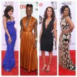 Lupita Nyong'o, Oprah Winfrey, Wendy Raquel Robinson et d'autres aux NAACP Awards