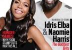 Idris Elba et Naomie Harris - JET Magazine