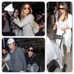 Kim Kardashian, Khloe Kardashian, Kendall Jenner et Kylie Jenner arrivent à