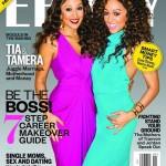 Tia et Tamera Mowry à la une de Ebony Magazine