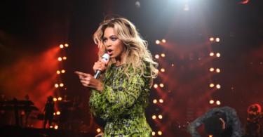 Beyonce lors de sa tournée internationale The Mrs. Carter Show