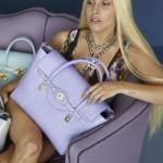 Lady  Gaga nouvelle égérie de Versace