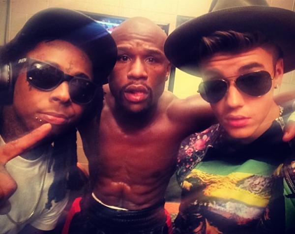 Lil-Wayne-Floyd-Mayweather-Justin-Bieber