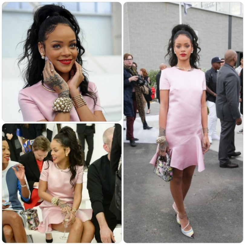Rihanna-Defile-Dior