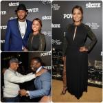 50 Cent, Carmelo et LaLa Anthony célèbrent l'avant première de Power