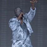Kanye West sur scène au  Wireless Festival