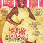 Lupita Nyong'o fait la une Elle Magazine en France
