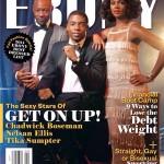 Les membres du casting du film Get On Up font la une de EBONY magazine