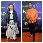 Nick Cannon et Zendaya Coleman à la cérémonie Nickelodeon HALO Awards 2014