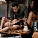 John Legend et Chrissy Teigen font la une de GQ Magazine