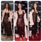 Rihanna, Naomi Campbell et d'autres pour une levée de fonds Fendi à New York