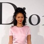 Rihanna devient la première égerie noire de Dior