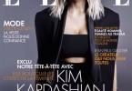 Kim Kardashian Elle Magazine France