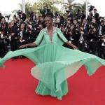 Lupita Nyong'o fait une entrée fraquassante au Festival de Cannes 2015