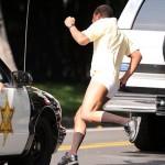 """Cuba Gooding Jr sans pantalon tourne une scène de """"American Crime Story: The People Vs OJ Simpson"""""""