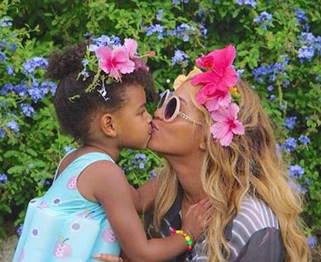 Beyonce et Blue Ivy en vacances