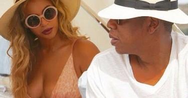 Beyonce et Jay Z en vacances