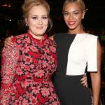Adele accusée d'avoir snobé Beyonce, elle dément