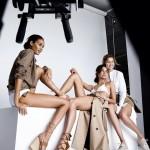 Gigi Hadid, Joan Smalls et Lily Aldridge posent nues pour Stuart Weitzman