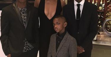Gabrielle Union et ses beaux-fils