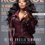 Angela Simmons covers Kontrol Magazine