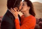 Eva Longoria and her fiance