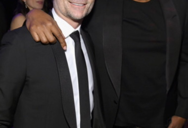 Jay Z and Robert de Niro at the amfAR Gala New York