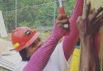 Serena Williams in Jamaica