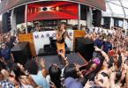 Ciara performing in Las Vegas