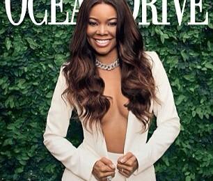Gabrielle Union covers Ocean Drive Magazine