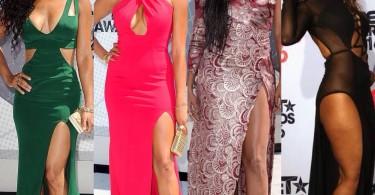 Meagan Good, Letoya Luckett, Gabrielle Union, Toni Braxton at the BET Awards 2016