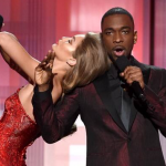 Gigi Hadid was the girl of the night at the 2016 American Music Awards, she mocked Melania Trump