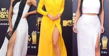jasmine sanders and kim kardashian at MTV Movie Awards 2018